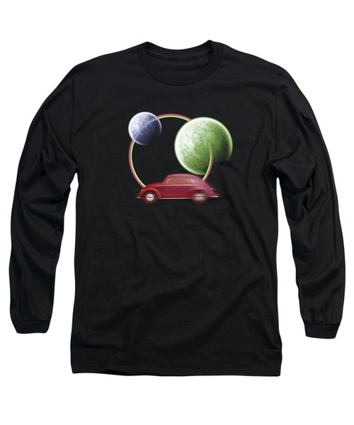Car Space  Long Sleeve T-Shirt by Mark Ashkenazi