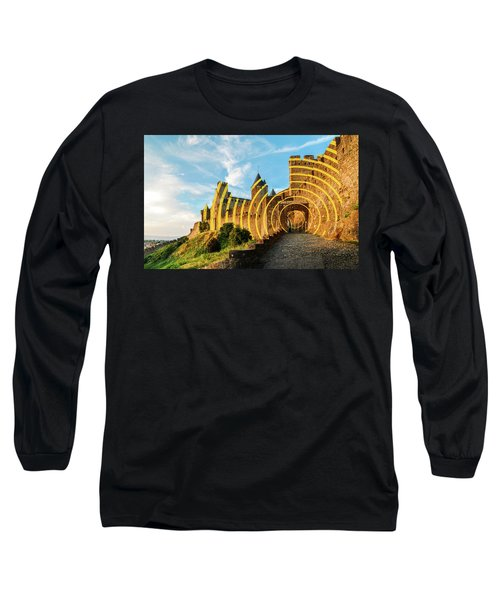 Carcassonne's Citadel, France Long Sleeve T-Shirt