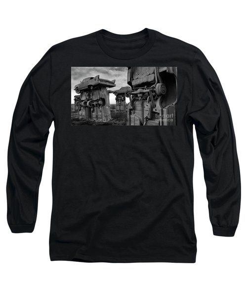Carhenge Nebraska 18 Long Sleeve T-Shirt