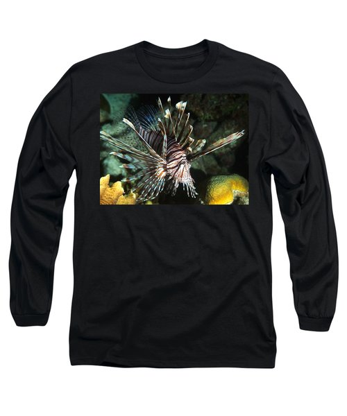 Caribbean Lion Fish Long Sleeve T-Shirt
