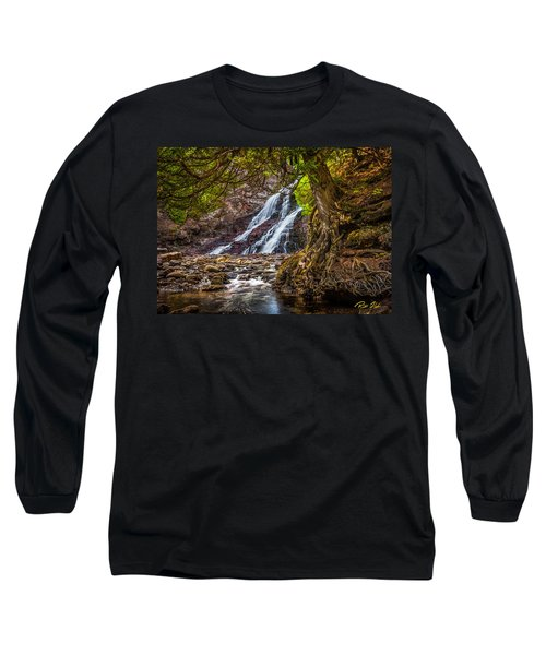 Caribou Falls In Fall Long Sleeve T-Shirt