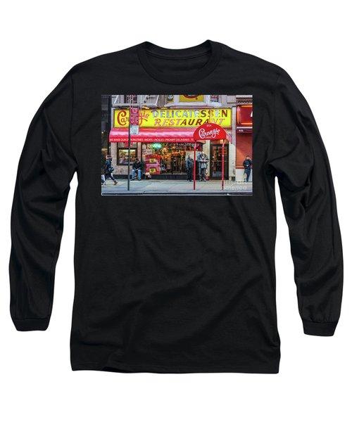 Carnegie Deli Long Sleeve T-Shirt