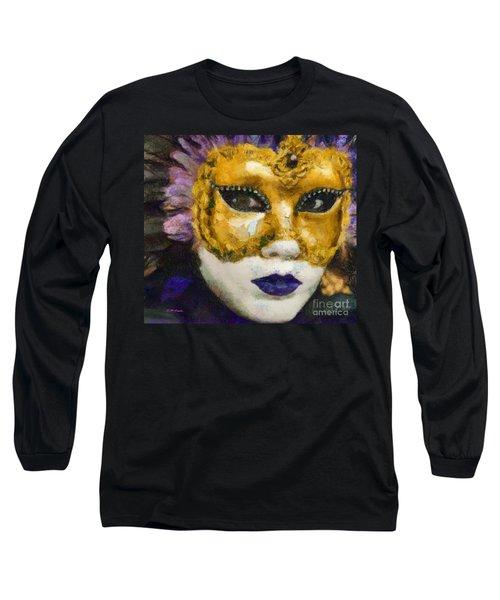 Carnival Of Venice Long Sleeve T-Shirt by Elizabeth Coats
