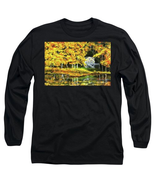 Carol's House Long Sleeve T-Shirt by Randy Sprout