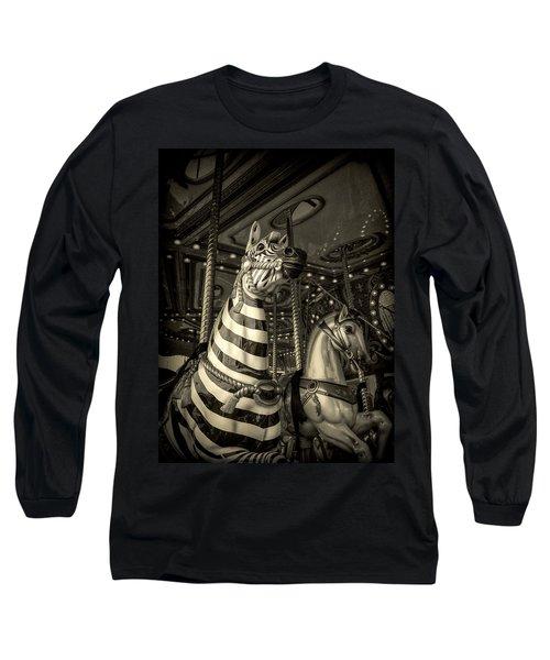 Carousel Zebra Long Sleeve T-Shirt