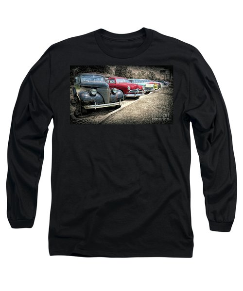 Cars For Sale Long Sleeve T-Shirt by Marion Johnson