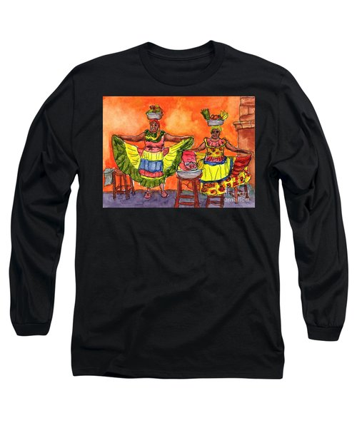 Cartagena Fruit Venders Long Sleeve T-Shirt