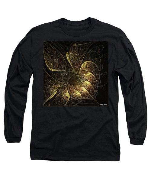 Carved In Gold Long Sleeve T-Shirt