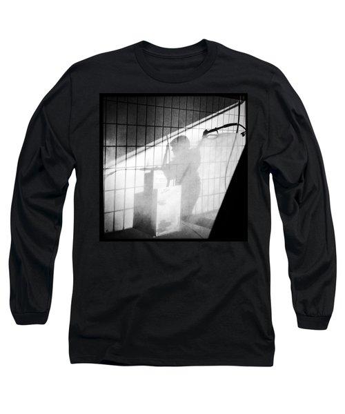 Carwash Shadow And Light Long Sleeve T-Shirt by Matthias Hauser