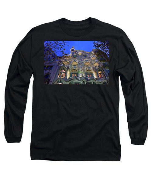 Casa Batllo In Barcelona Long Sleeve T-Shirt