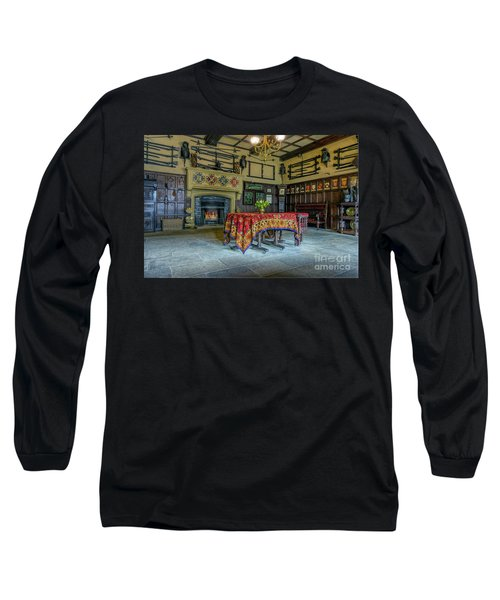 Long Sleeve T-Shirt featuring the photograph Castle Dining Room by Ian Mitchell
