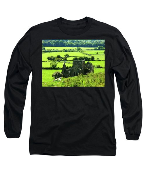 Castle Ruins Countryside Long Sleeve T-Shirt