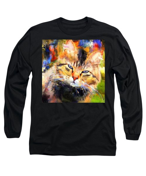 Cat Color Long Sleeve T-Shirt