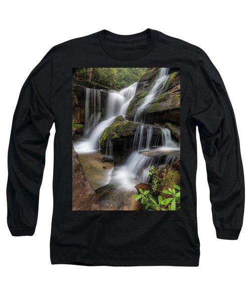 Cat Gap Loop Trail Waterfall Long Sleeve T-Shirt