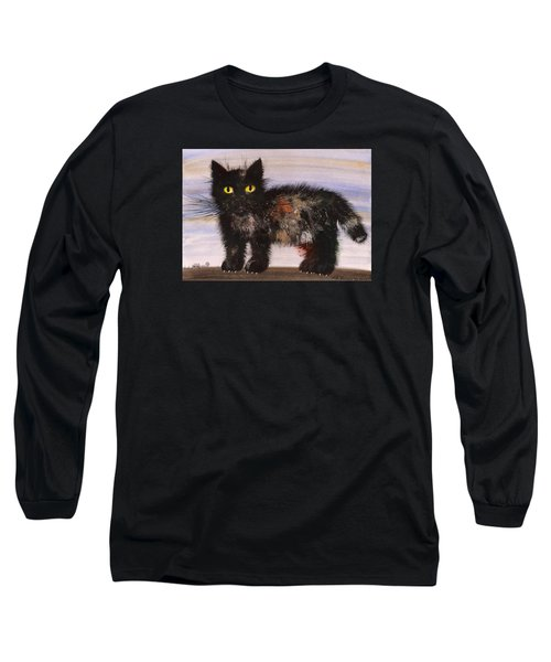 CAT Long Sleeve T-Shirt by Mikhail Savchenko
