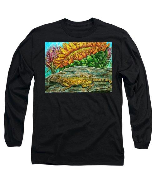 Catching Some Rays Long Sleeve T-Shirt by Kim Jones