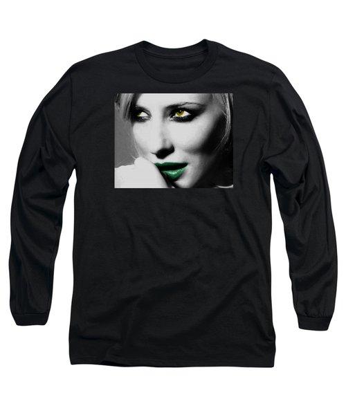 Cate Blanchett Long Sleeve T-Shirt