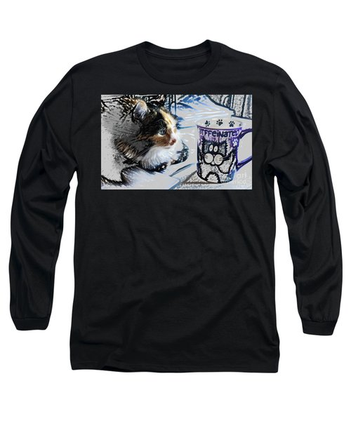 Catfinated Kitty Long Sleeve T-Shirt