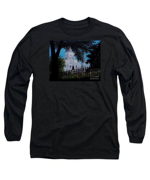 Cathedral At The Square Long Sleeve T-Shirt
