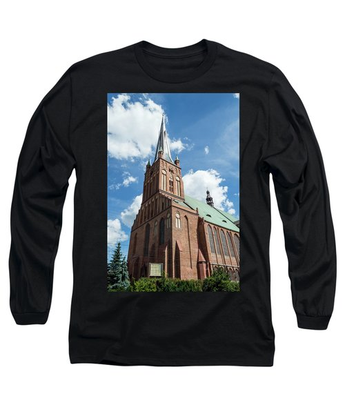 Cathedral Basilica Of St. James The Apostle, Szczecin A Long Sleeve T-Shirt