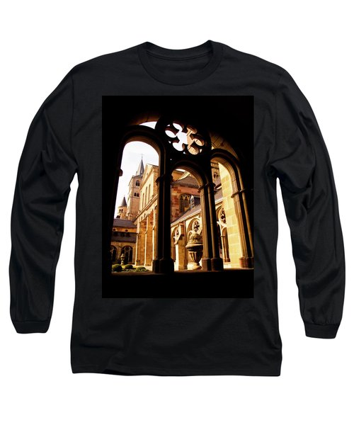 Cathedral Of Trier Window Long Sleeve T-Shirt