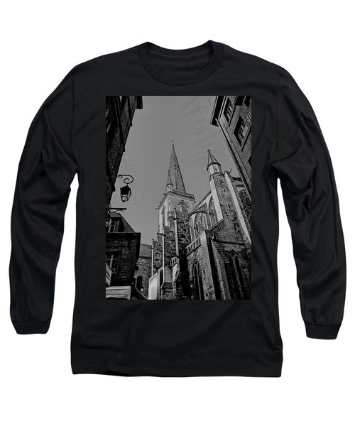 Long Sleeve T-Shirt featuring the photograph Cathedrale St. Vincent  by Elf Evans