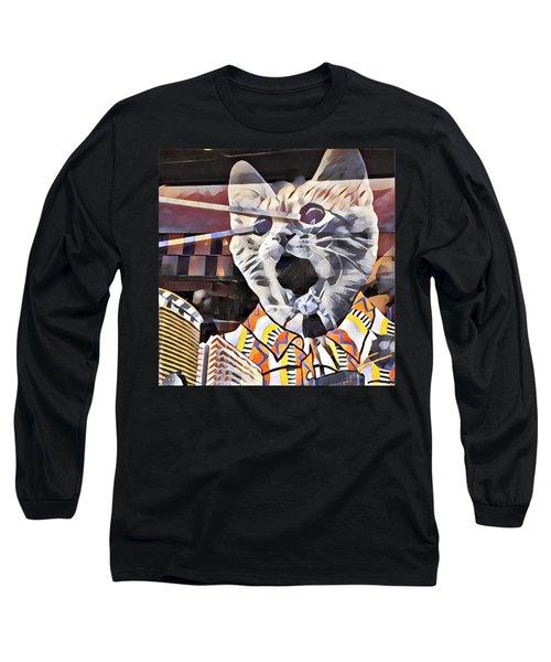 Cats On Congress Long Sleeve T-Shirt