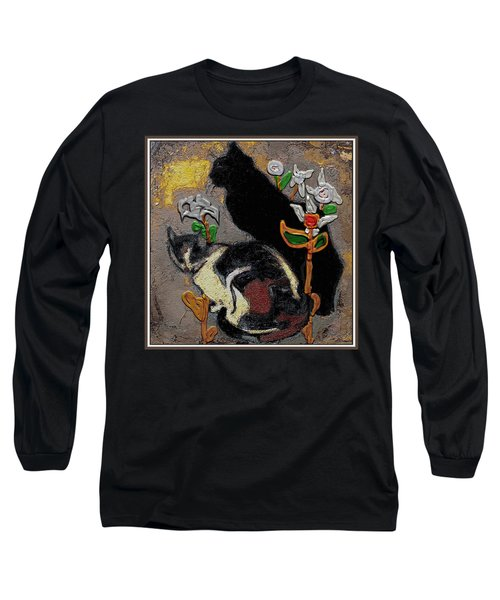 Cats Long Sleeve T-Shirt by Pemaro