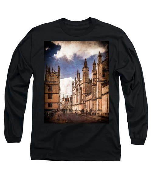 Oxford, England - Catte Street Long Sleeve T-Shirt