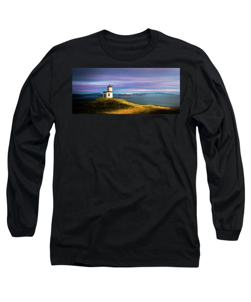 Cattle Point Lighthouse Long Sleeve T-Shirt