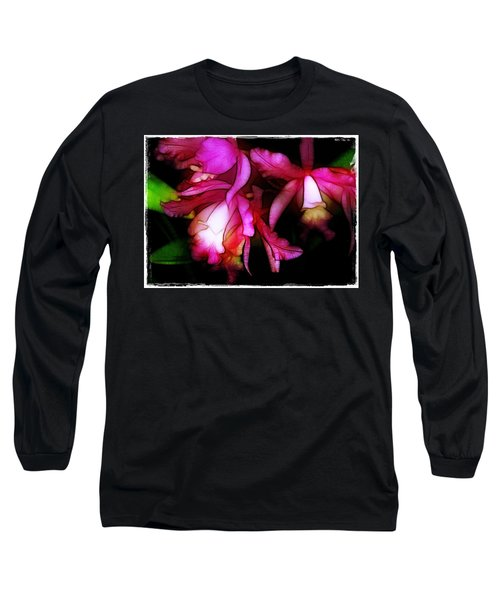 Cattleyas Long Sleeve T-Shirt