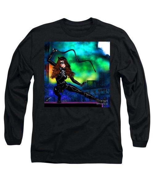 Catwoman Long Sleeve T-Shirt