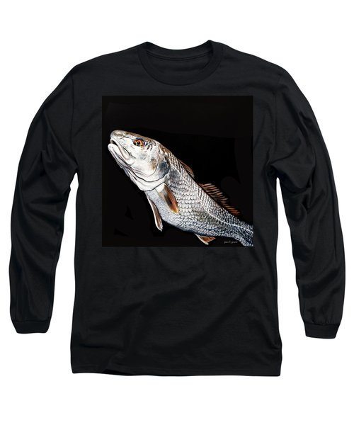 Caught In The Surf Redfish Long Sleeve T-Shirt