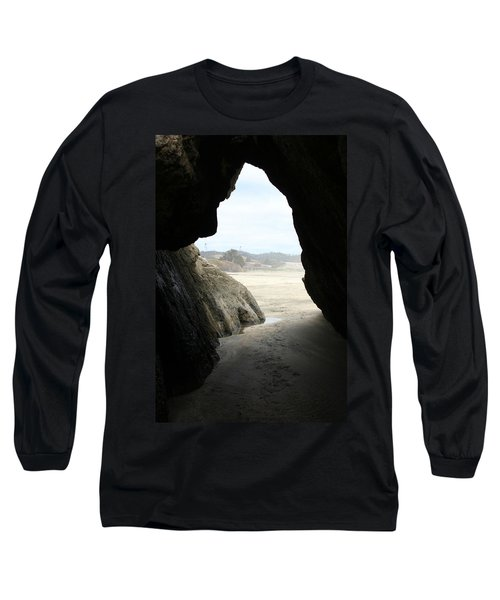 Long Sleeve T-Shirt featuring the photograph Cave Dweller by Holly Ethan