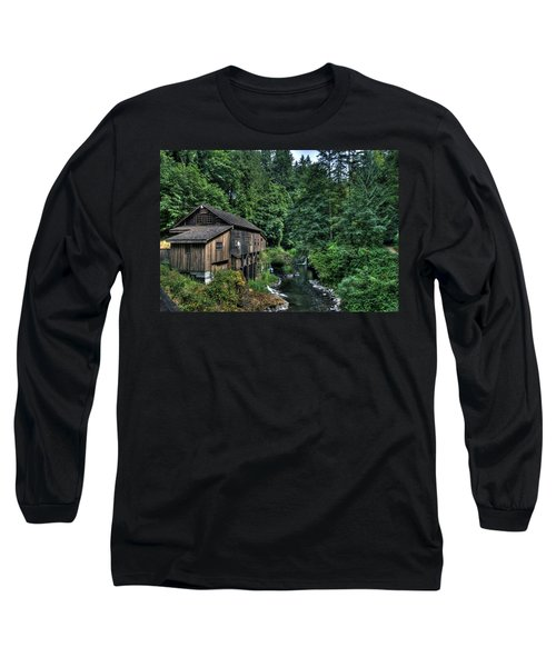 Cedar Creek Grist Mill Long Sleeve T-Shirt