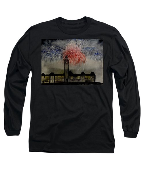 Celebrate Long Sleeve T-Shirt by Betty-Anne McDonald