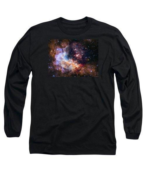 Celebrating Hubble's 25th Anniversary Long Sleeve T-Shirt by Nasa