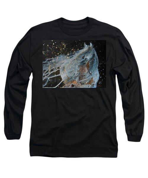 Celestial Stallion  Long Sleeve T-Shirt