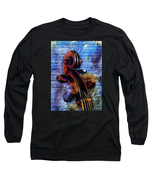 Cello Masters Long Sleeve T-Shirt by Gary Bodnar
