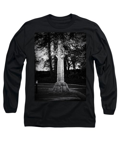 Celtic Cross In Killarney Ireland Long Sleeve T-Shirt