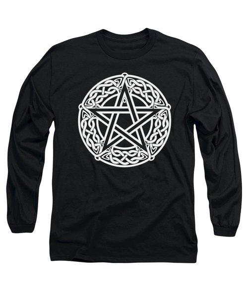 Celtic Pentagram Long Sleeve T-Shirt