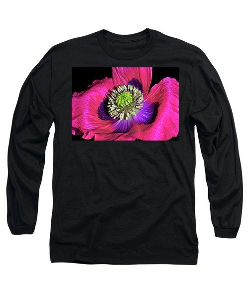 Centerpiece - Poppy 020 Long Sleeve T-Shirt