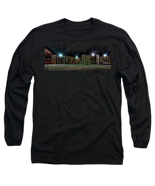 Central Area At Night Long Sleeve T-Shirt