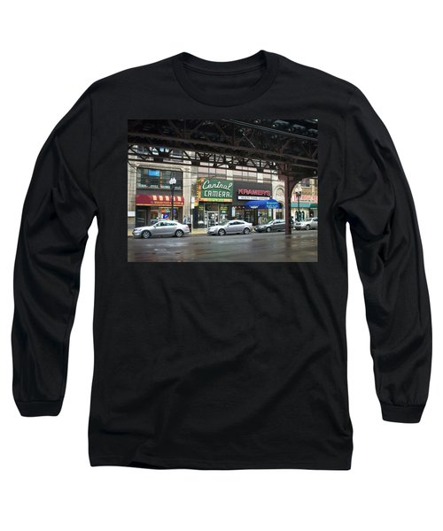 Central Camera On Wabash Ave  Long Sleeve T-Shirt