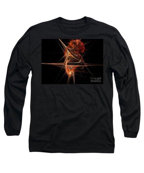 Cerebral Hemisphere Long Sleeve T-Shirt by Kim Sy Ok