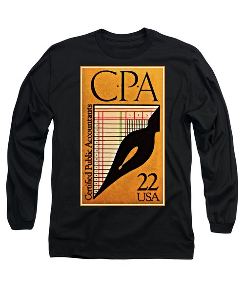 Certified Public Accounting Issue Long Sleeve T-Shirt