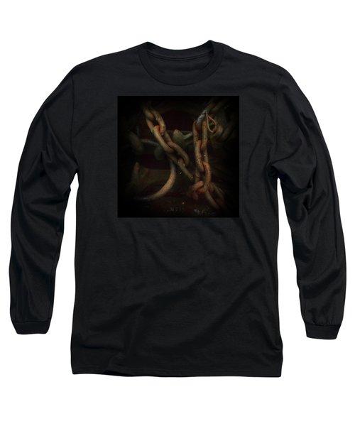 Plate 002- Chain - Metallica Series Long Sleeve T-Shirt
