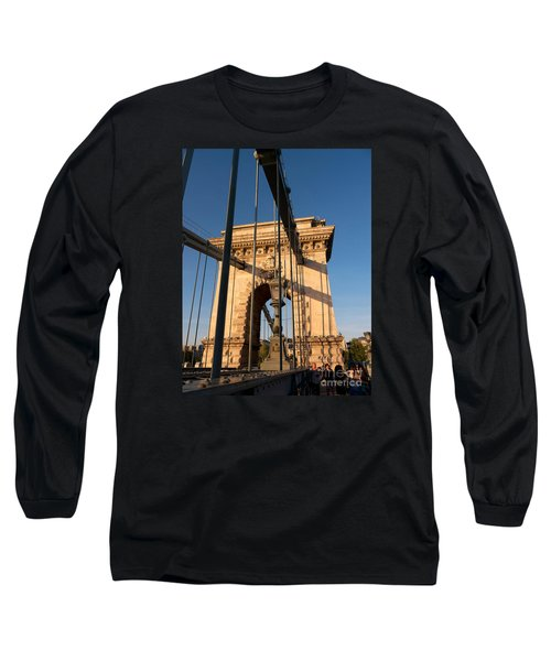 Chain Bridge Budapest  Long Sleeve T-Shirt
