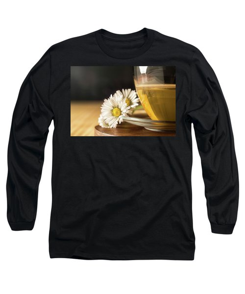 Long Sleeve T-Shirt featuring the photograph Chamomile by Traven Milovich