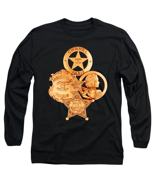 Chanel Jewelry-17 Long Sleeve T-Shirt